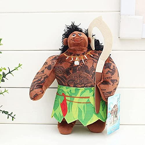 WSYGHP Película Moana Princess Maui Moyana Hei PUA Plush Toys VAIANA Muñeca Rellena para niños Regalos para niños 20 cm Felpa Gigante (Color : Red)