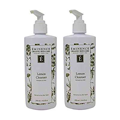 Bundle-2 Items : Eminence Cleanser, Lemon, 8.4 Oz (Pack of 2)