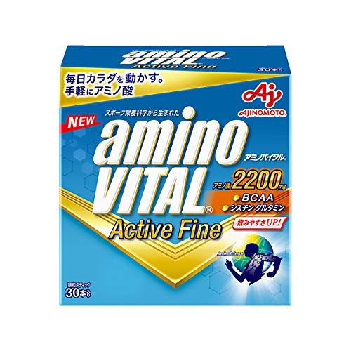 アクティブファイン 30本入×6箱 アミノバイタル 味の素株式会社