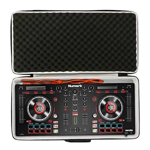 Khanka Hart Tragetasche Case für Numark Mixtrack Platinum/FX All-In-One 4-Deck DJ Controller. (Schwarz)