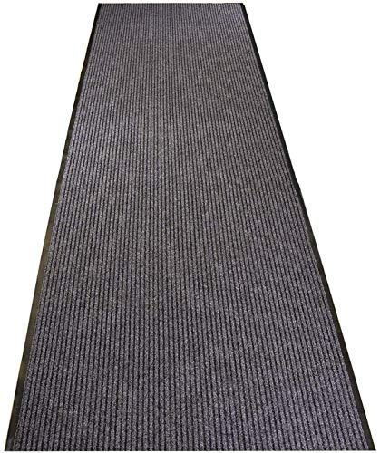 ybaymy Schmutzstopper Teppichläufer rutschfest, 300 x 90 cm Teppich Läufer mit Rutschfester Unterseite, Antifouling Flur läufer, für Räumen, Korridoren, Eingangsbereichen
