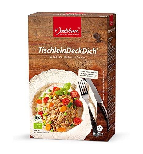 Jentschura TischleinDeckDich 800g + GRATIS Zugaben + Rezepte Größe 1x Probenmix (2St)