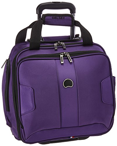 Delsey Paris Luggage Sky Max 2 Wheeled Underseater Purple