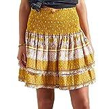 Superdry Ameera Mini Smocked Skirt S