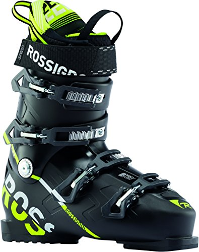 Rossignol Speed 100 Ski Boots Black/Yellow Mens Sz 12.5 (30.5)