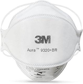 Respirador Descartável 3M™ Aura 9320+BR – Classificação PFF-2 – Indicada para poeiras, névoas e fumos