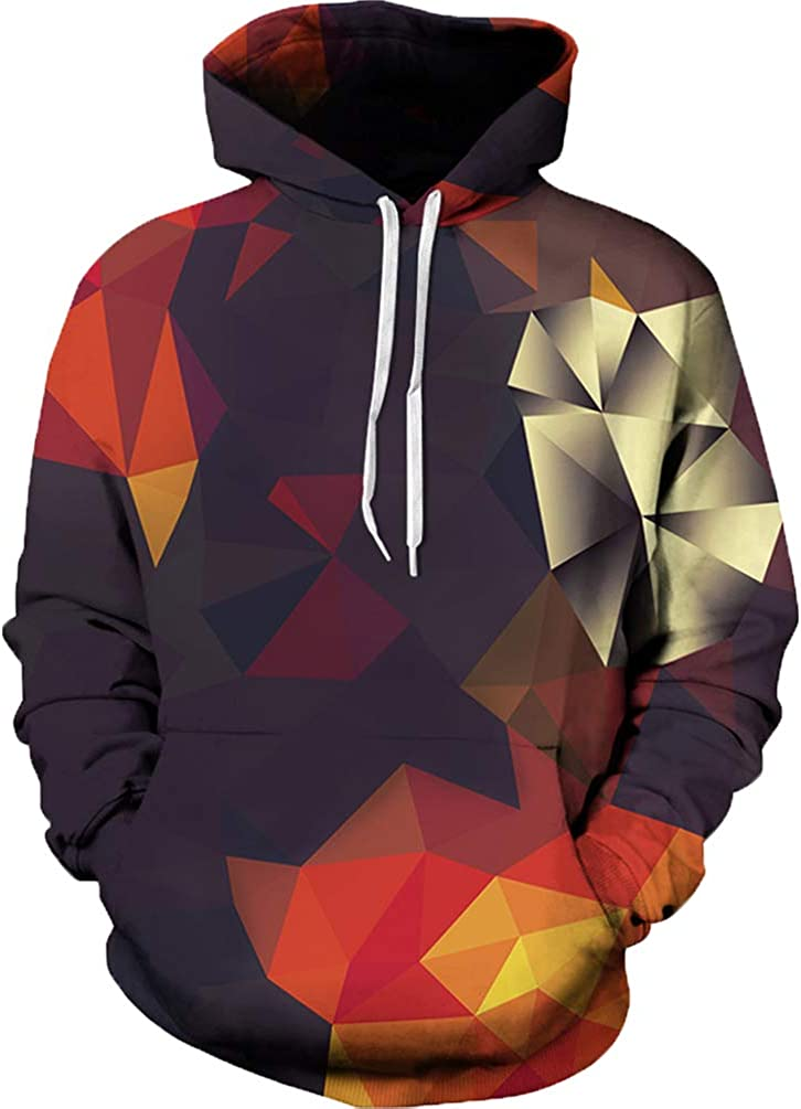 Unisex 3D Max 77% OFF Novelty Hoodies Print Graphic Pullover Galaxy Fashion
