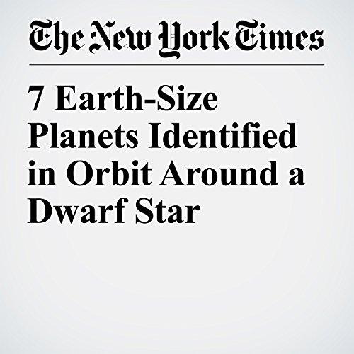 7 Earth-Size Planets Identified in Orbit Around a Dwarf Star copertina