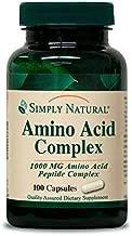 Simply Natural Amino Acid Complex, 1000 MG, 100 Capsules …