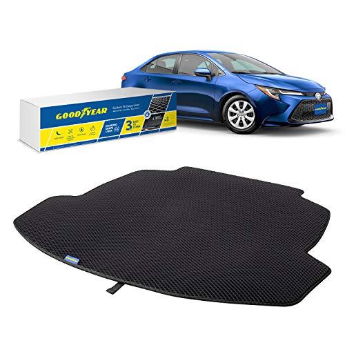 Goodyear Alfombrilla protectora para maletero de Toyota Corolla 20, accesorios de coche, alfombrillas y alfombras shwartz