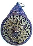 Traditionelles islamisches Astrolabium 17 cm in schwerem Messing; Muslimische Erfindung für Astronomie und Wissenschaft