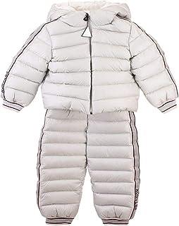 Moncler Luxury Fashion Ragazzo 1F503105304890DK Bianco Poliammide Tuta | Autunno-Inverno 20