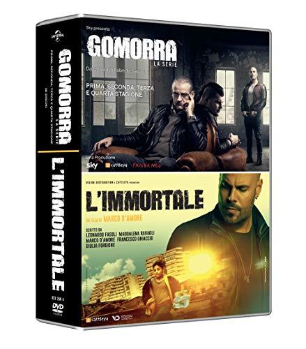 Gomorra - Boxset Stagioni 1-4 + L\'Immortale (17 Dischi)