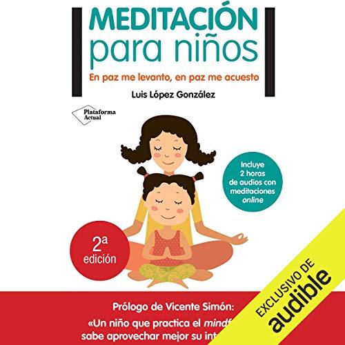 Meditación para niños [Meditation for Children] audiobook cover art