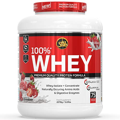 All Stars 100% Whey Protein 2270g Strawberry