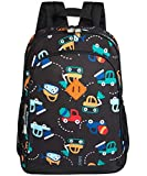 JinBeryl Preschool Backpack for Kids Little Boys or Girls, 15L Size, Perfect for Kindergarten and Elementary School