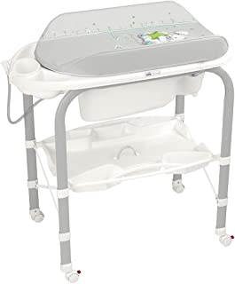Cam Cambio Bath Tub with Stand And Changing Mat - Grey