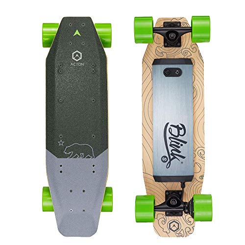 Acton Blink S Electric Skateboard - Black/Green ,...