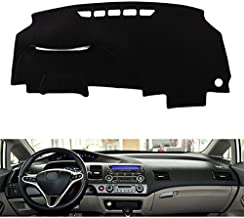 HITSAN Dashboard Mat Sun Cover Dust-proof Pad Dedicated for Honda Civic 8th 2006-2010 One Piece
