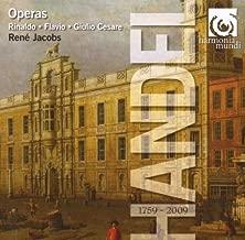 Handel: Rinaldo; Flavio; Giulio Cesare