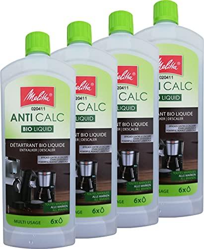 4x MELITTA 212382 Anti Calc Bio...