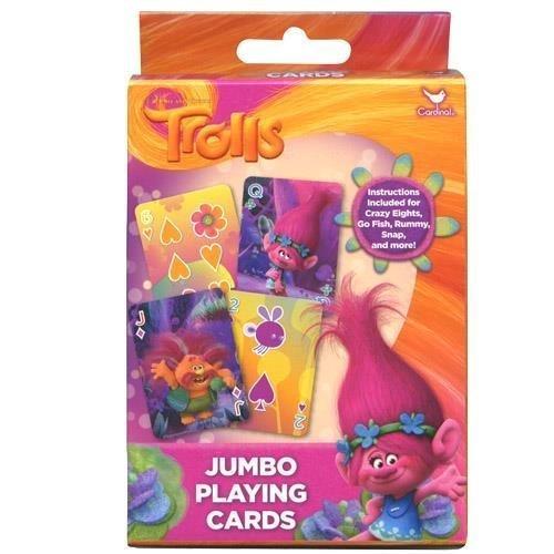Trolls 1 pk Jumbo Card Game by