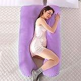 Jianyana - Almohada de maternidad para embarazo, con una funda de almohada lavable