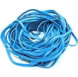 Garbage Trash Can Rubber Bands Blue Large Size 17' Inch Rubberbands for Kitchen Compactor Tote Bin 55-65...
