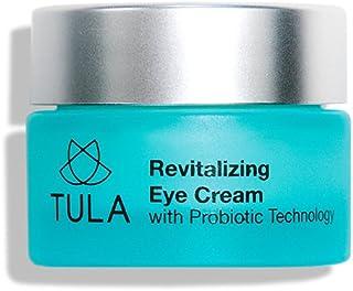 TULA Probiotic Skin Care Revitalizing Eye Cream, 0.5 oz. – Smooth Fine Lines, Dark Circles & Puffiness