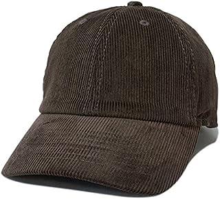 NEWHATTAN ニューハッタン コーデュロイ キャップ 帽子 シンプル 定番タイプ