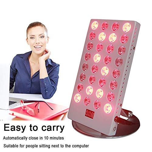 Fantastic Prices! Enwepoeo Near Infrared Red Light Device Therapy, 660nm and NIR 850NM Red Light The...