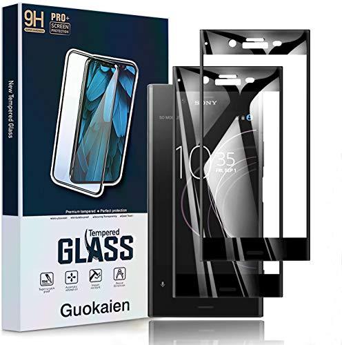 【2枚セット】 Sony Xperia XZ1 ガラスフィルム SOV36 保護フィルム SO-01K フィルム 5.2インチ 高硬度 9H 2.5D 高透明度 [ケースに干渉しない] 気泡ゼロ HD 保護強化フィルム
