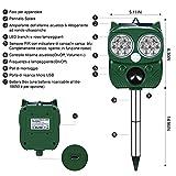 Zoom IMG-1 eyeleaf repellente gatti ultrasuoni dissuasore