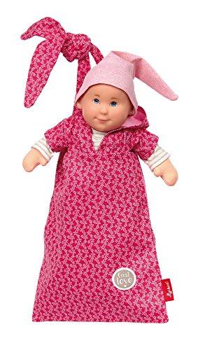 sigikid, Mädchen, Spielpüppchen mit Beutel, Pallimchen, Softdolls, Pink, 24927