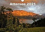 Attersee im Salzkammergut 2021AT-Version (Wandkalender 2021 DIN A4 quer)