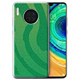 Phone Case for Huawei Mate 30 Reptile Skin Effect Pit