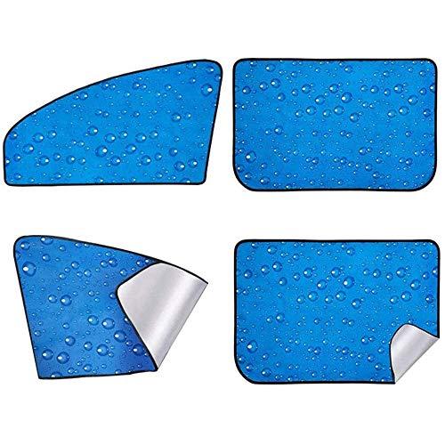 Seguy Parasol voor zijruiten, parasol voor ramen vooraan achterzijde, parasol voor zijramen baby 4 stuks