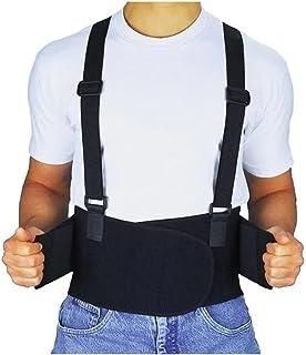 Faja Cargador Elástica Tirantes Gimnasio Cintura Terapia Cargar Levantar Tercer Cinto Weisco Elegir Talla L