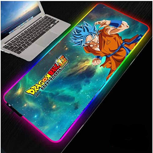 Mouse Pads Dragon Gaming RGB Large Mouse Pad Gamer Mat Computer Pad Led Backlight Mause with Wireless Charger(Size_1)3007004Mm