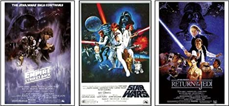 Set Of 3 - Star Wars Original Classics Movie 24x36 Poster