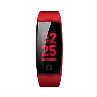 Fitness Tracker Pulsera Inteligente,Reloj sport con Perseguidor de la aptitud Monitor de Ritmo Cardíaco y Sueño Fitness Tracker con Pulsómetros Notificación de mensajes para iOS y Android