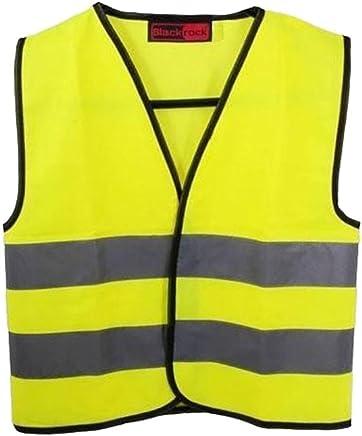 Baratec Ye Baratec Yellow Hi Viz High Visibility Childrens Kids Vest Waistcoat - Ages 4-12