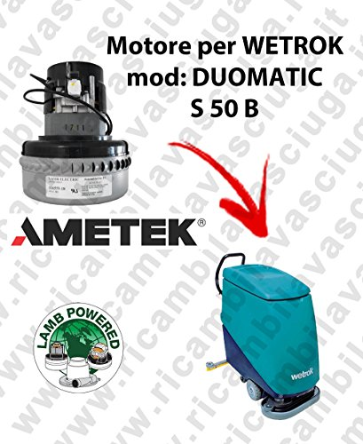 DUOMATIC S 50 B Motor LAMB AMETEK Bodensauger für WETROK