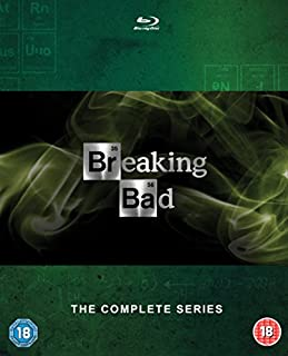 Breaking Bad: The Complete Series (includes UltraViolet copy) [Blu-ray] [Region Free] (B00E3R32YC) | Amazon price tracker / tracking, Amazon price history charts, Amazon price watches, Amazon price drop alerts