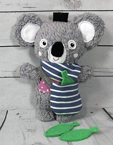 Kuschelbär Koala handgemacht personalisierbar 100% Baumwolle (Plüsch), 100% Polyester Füllung, ca. 20 cm groß
