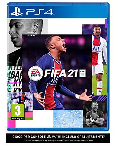 FIFA 21 PlayStation 4, include upgrade per PS5