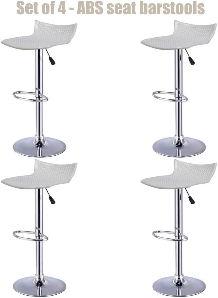 Contemporary High-Gloss ABS Boston Mall Seat Bar stool 360 Adjustable Height Limited Special Price