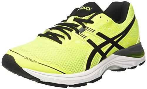 Asics Gel-Pulse 9, Scarpe da Running Uomo, Giallo (Safety Yellow/Black/Carbon), 46 EU