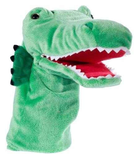 Heunec 778375 - Klassik Handspielpuppe Krokodil