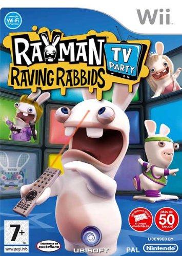 Rayman Raving Rabbids TV Party [Importer espagnol]